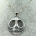 Jack Skellington The Nightmare Before Christmas Necklace - Silver