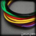 Multi-Colour Rubber Arm Bands - 12 Pack