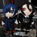Black Butler - Sebastian and Ciel Plush Toys