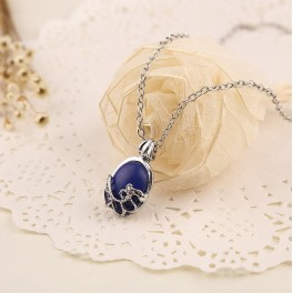 [Special Order] The Vampire Diaries Elena Gilbert Blue Stone Necklace