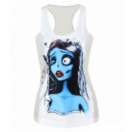 Corpses Bride Tank Top - One Size